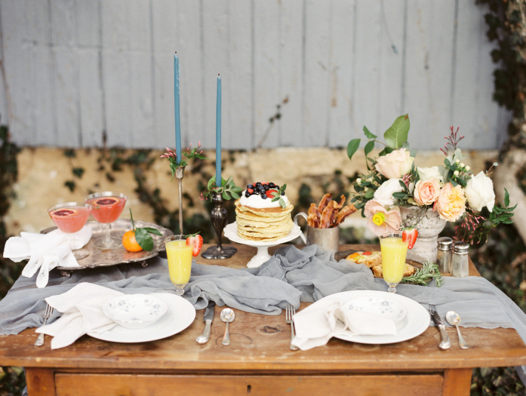 Food Styling with Eventi by Diana, featured on Style Me Pretty