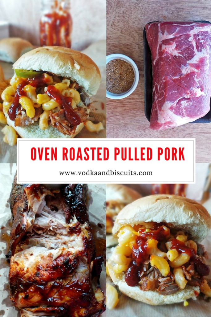 Delectable Oven Roasted Pulled Pork