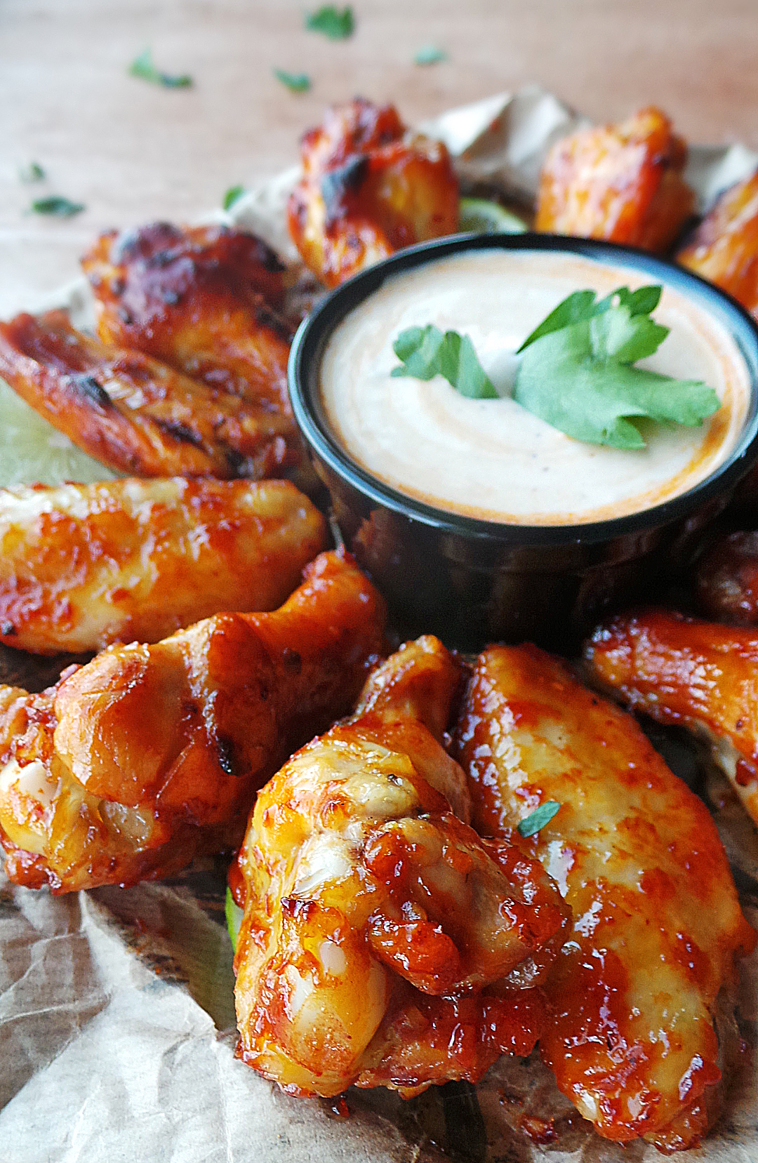Sweet Chipotle Glazed Wings