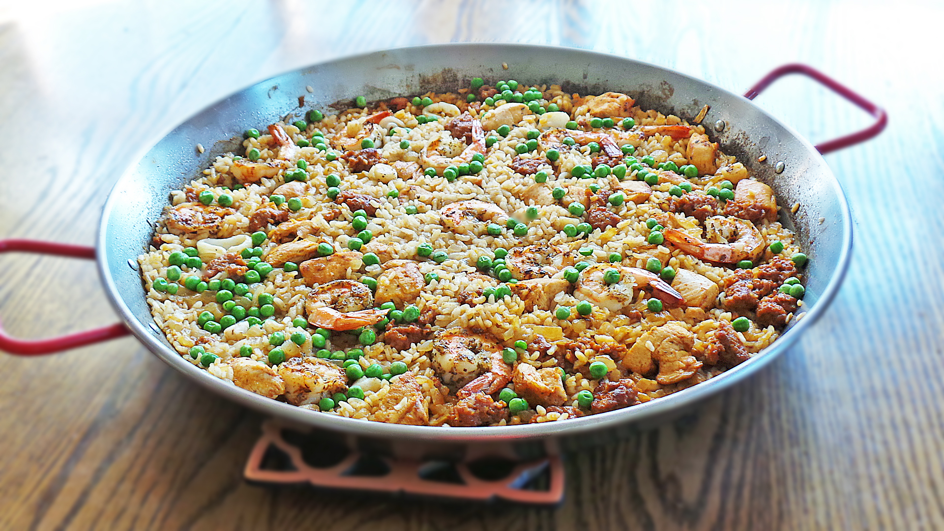 My Ultimate Paella Made w. Shellfish Stock @ Vodka & Biscuits