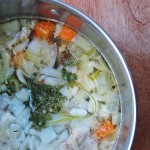 Simple Homemade Chicken Stock