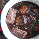 Braised Short Ribs + Pour Generously Wine Campaign