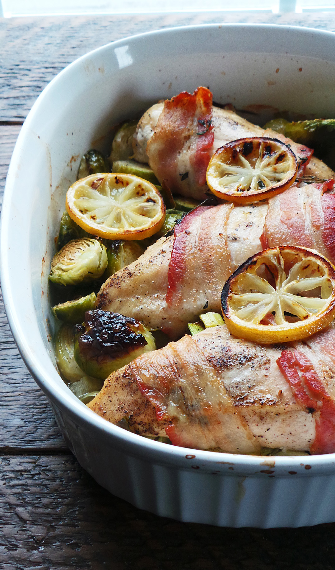 Roast Chicken Breast & Brussels Sprouts