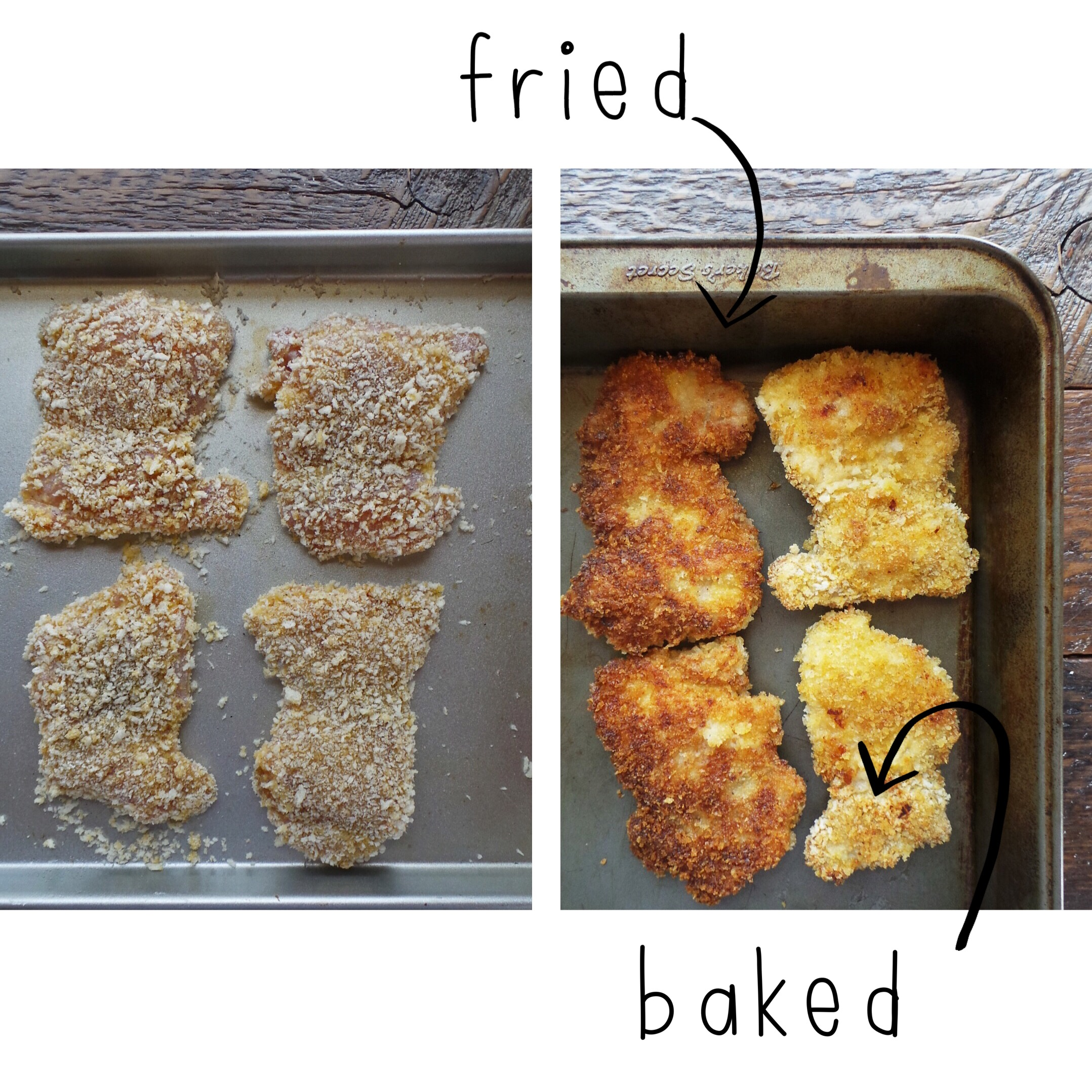 Fried vs. Baked