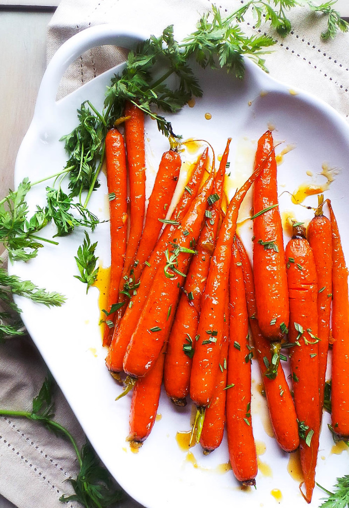 Marmalade and Ginger Glazed Carrots