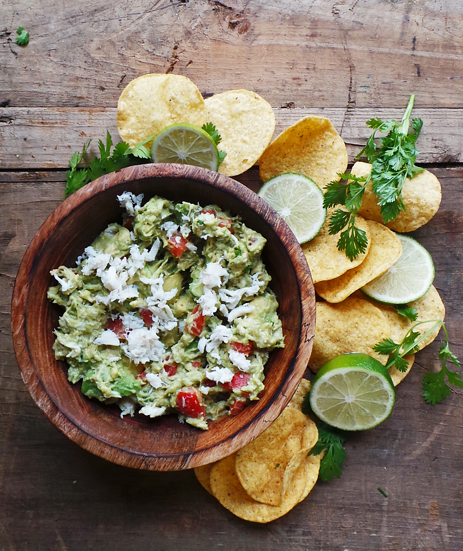 Crab Guacamole Recipe — Dishmaps