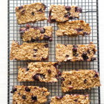 Blueberry Almond Breakfast Bars (Freezer Friendly!)