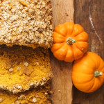 Pumpkin Bread with Toffee Streusel