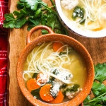 Feel-Good Turkey Meatball Soup