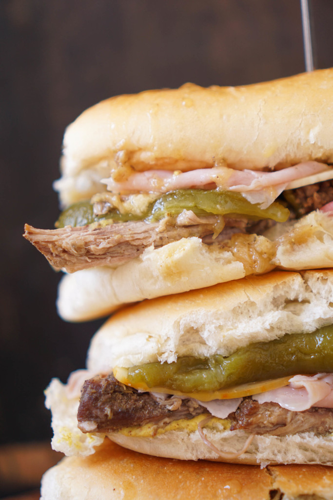 Colorado Cuban Sandwich with Green Chilies