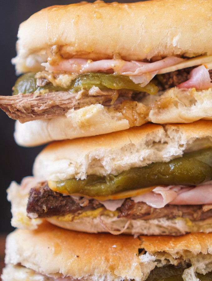 The Colorado Cuban Sandwich with Green Chilies