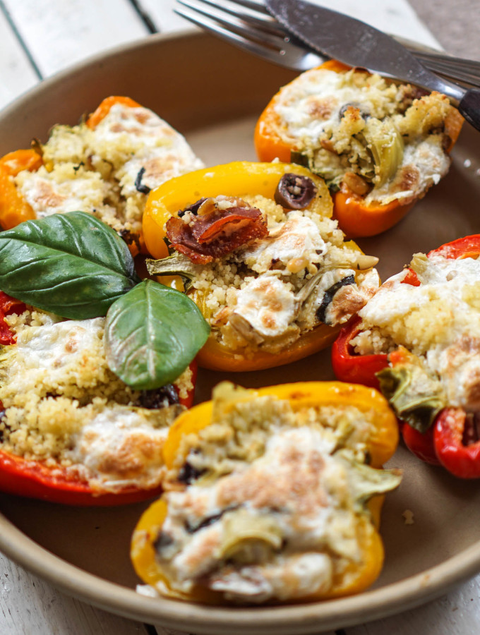 Mediterranean Stuffed Peppers