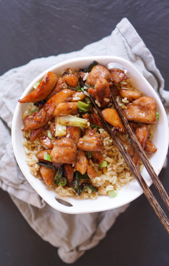 Chicken & Scallion Stir-Fryllion Stir-Fry-