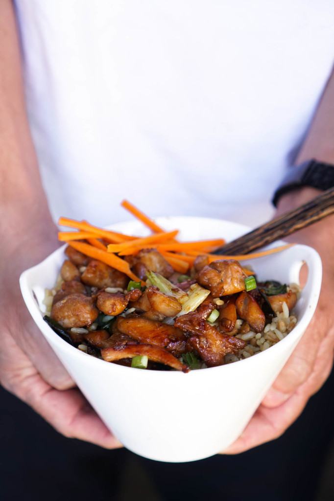 Chicken & Scallion Stir-Fry