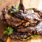 APL Marinated & Grilled Rib-Eye with Parmesan Grilled Potatoes