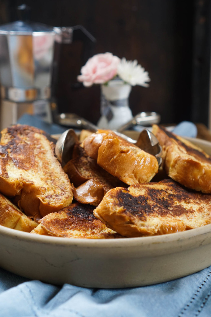 French Toast with Marmalade Whipped Cream