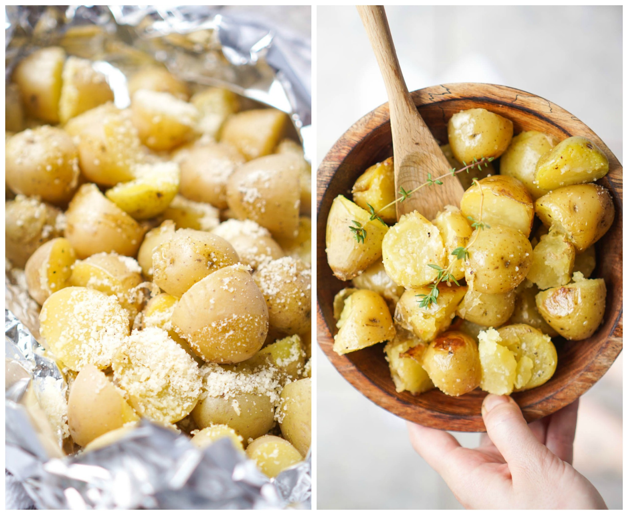 Parmesan Grilled Potatoes