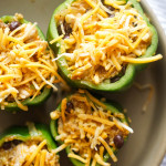 Chicken Fiesta Stuffed Peppers