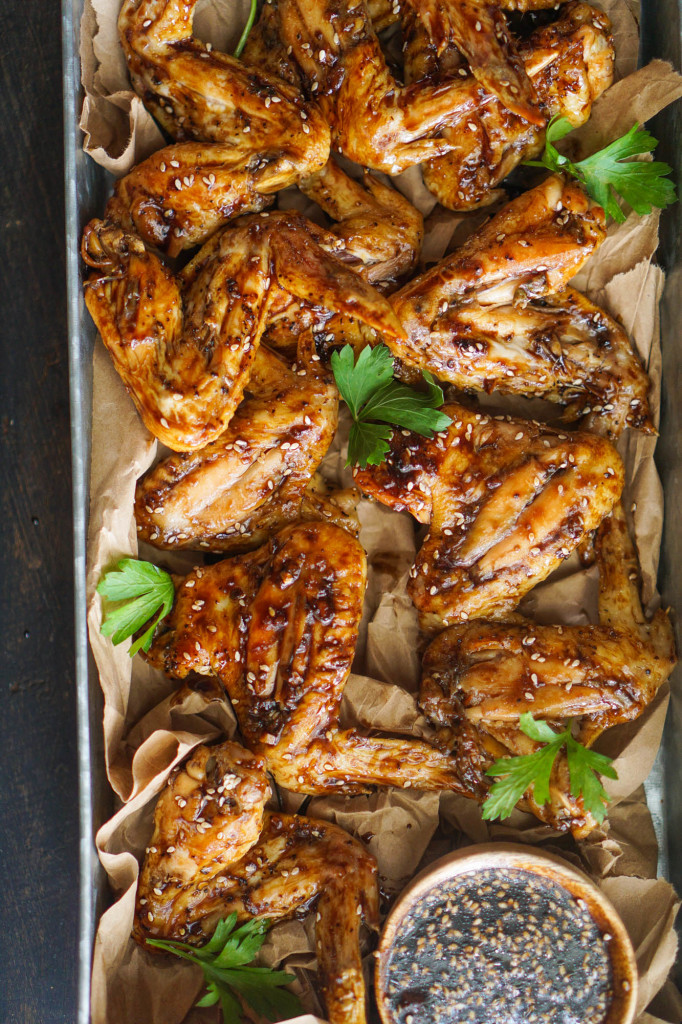 Baked Teriyaki Chicken Wings (Tailgate Friendly!)