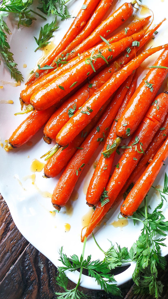 Marmalade & Ginger Glazed Carrots