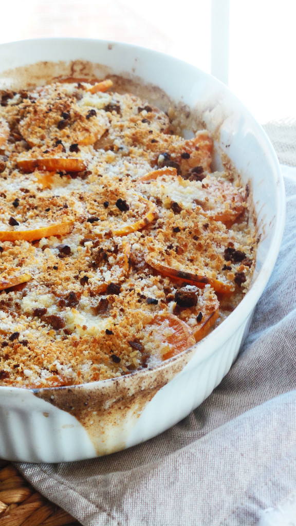 sSweet Potato & Apple Au Gratin