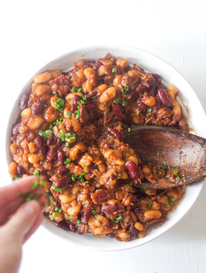 Quick & Smoky Baked Beans