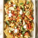 My FAVORITE Chicken Nachos