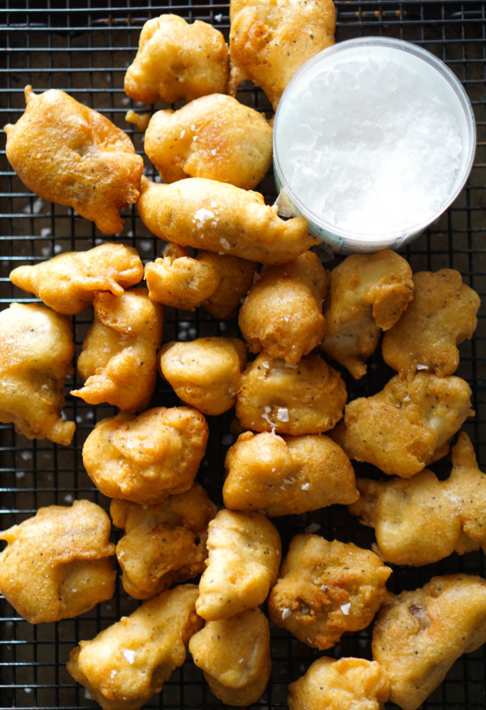 Beer Battered Fried Fish Bites