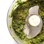 Mint and Pistachio Pesto with Feta (Perfect for Lamb!)