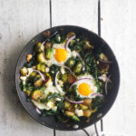 Baked Breakfast Greens